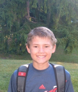 Josh starts middle school and might try the school newspapaer